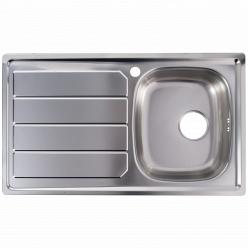 Кухонная мойка из нержавеющей стали BI Foster S1000 860*500 (1186 161)